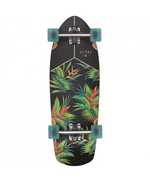 Globe Stubby Walnut/Hellaconia Complete Skateboard