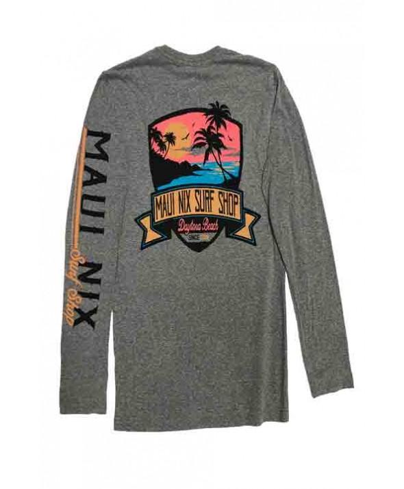 Maui Nix Twilight Beach Long Sleeve Tee