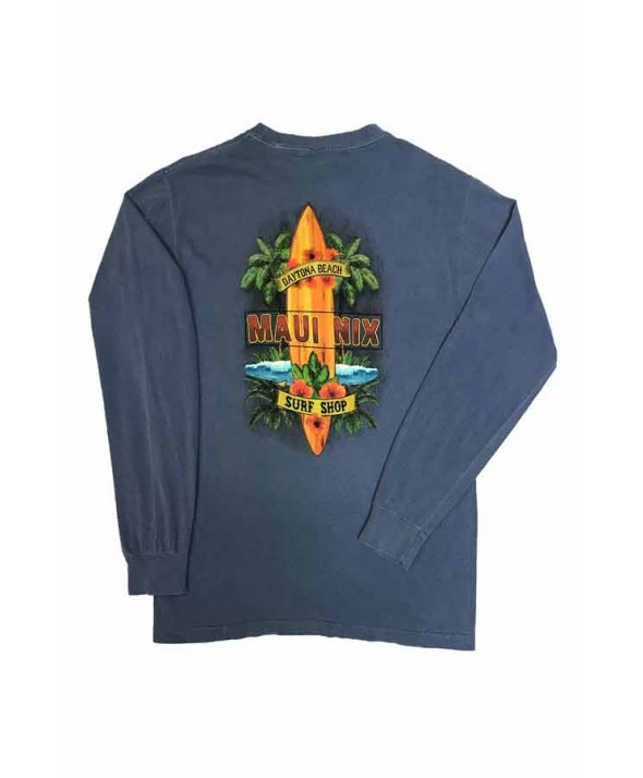 Maui Nix Floral Boards Long Sleeve