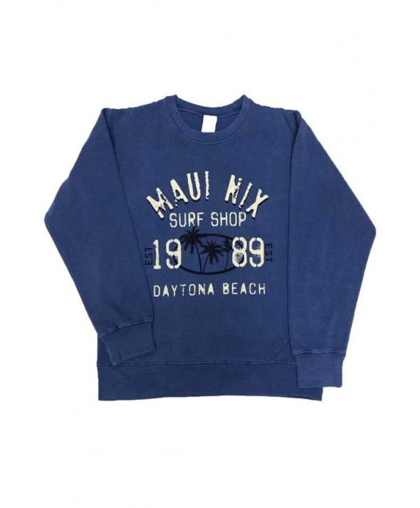 Maui Nix 3 Palms Crew Sweatshirt