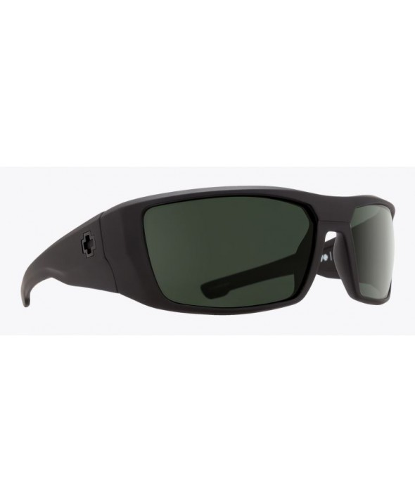 3fa01147a7988 ... Spy Dirk Soft Matte Black Happy Gray Green Polarized Sunglasses.  SOFTMTBLK-HAPPY GRY
