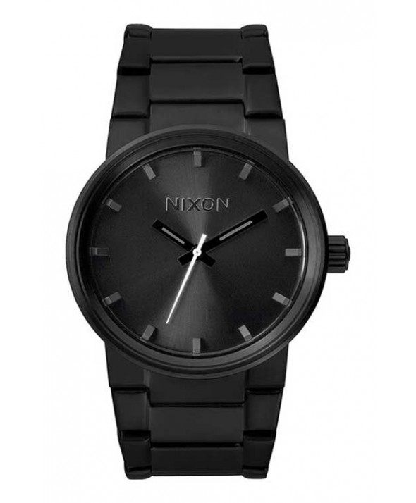 Nixon Cannon All Black 39.5 mm Watch