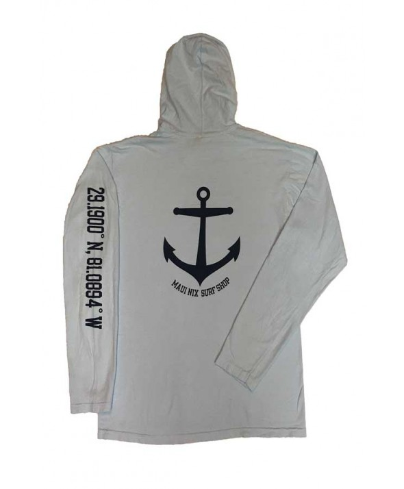 Maui Nix Anchor Long Sleeve Hood