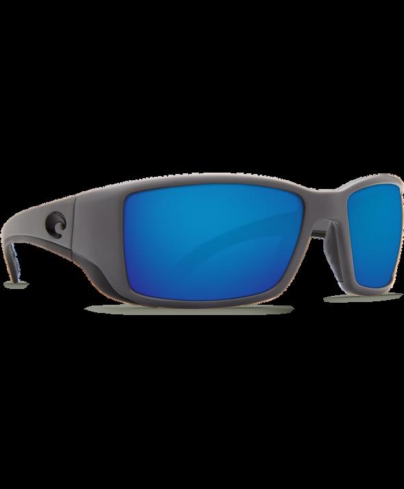 5928973115 Costa Del Mar Blackfin Matte Gray Blue Mirror 580G Sunglasses