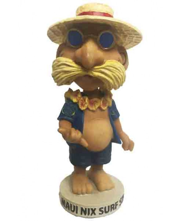 Maui Nix Surf Shop Character Bobblehead- Collectors Edition (Limited First Edition)