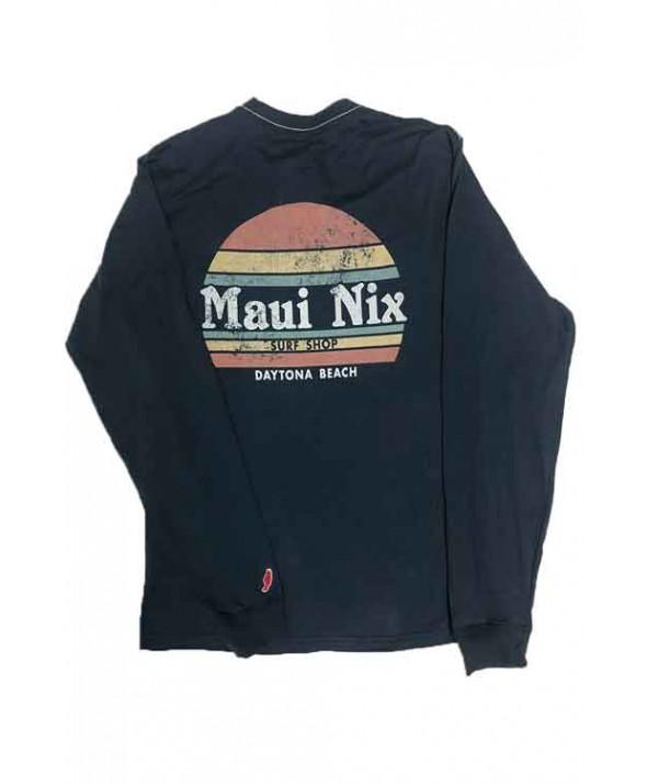 Maui Nix Long Sleeve Pocket Tee