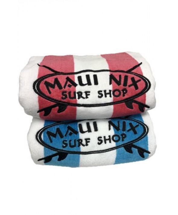 Maui Nix Velour Cabana Beach Towels