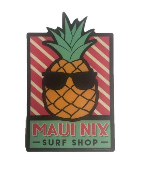 Maui Nix Cool Pineapple Sticker