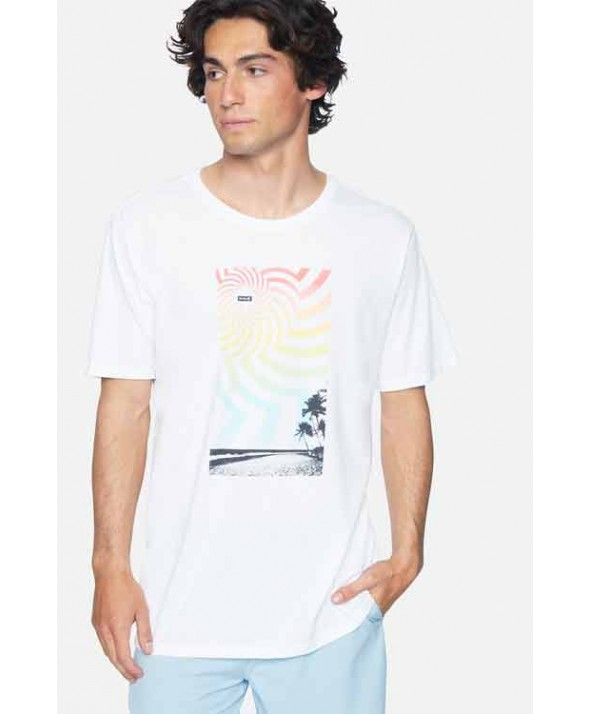 Hurley Men's Everyday Washed Tripical Tee