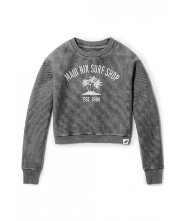 Maui Nix Timber Crop Crew Top