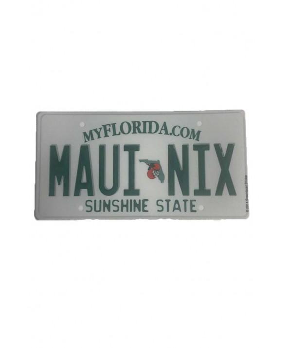 Maui Nix Florida Plate Sticker