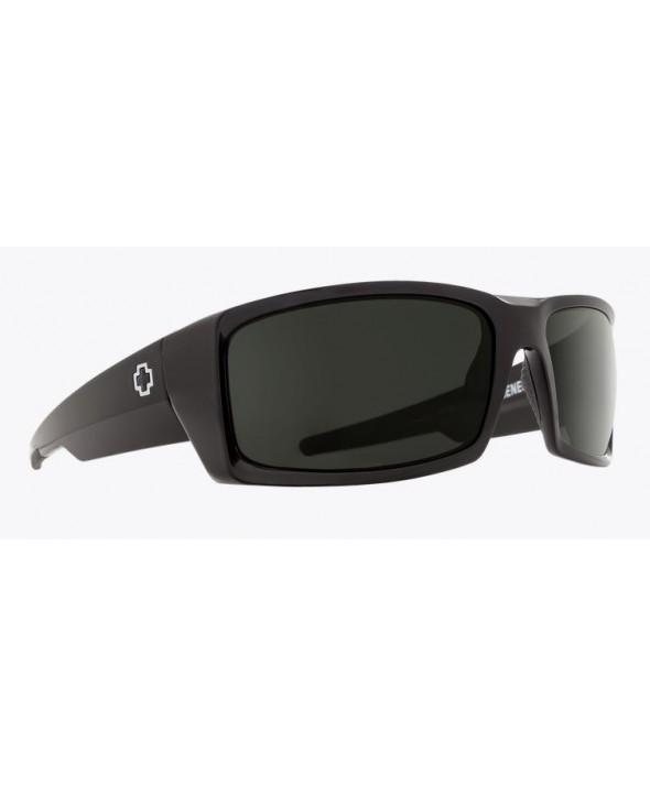 6ad4617723 Spy General Black Happy Gray Green Lens Sunglasses