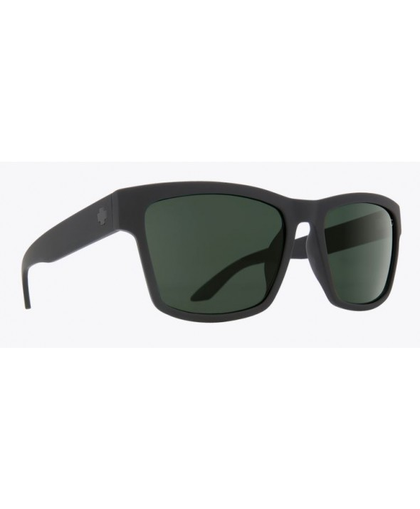 96d0c9df4d ... Spy Haight 2 Soft Matte Black Happy Gray Green Polarized Sunglasses.  MTBLK HPY GRY