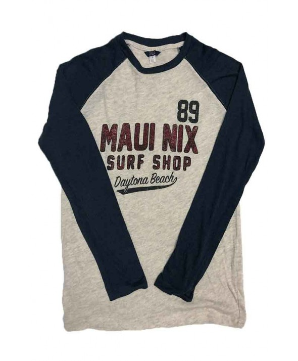 Maui Nix Gage Raglan Long Sleeve Shirt