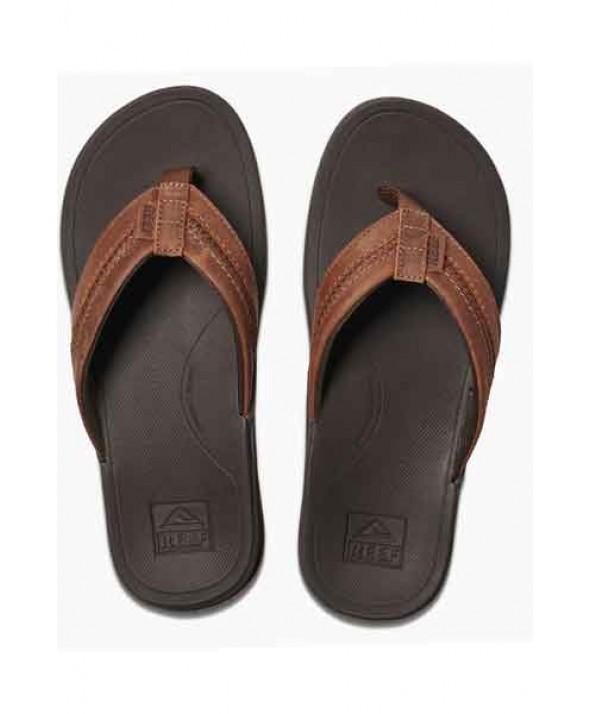 Reef Men's Leather Ortho Bounce Coast Sandal