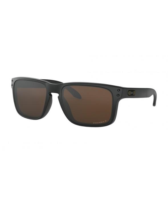 8e74755ea0e ... Oakley Holbrook Matte Black Prizm Tungsten Polarized Sunglasses.  MTBLK PRZM
