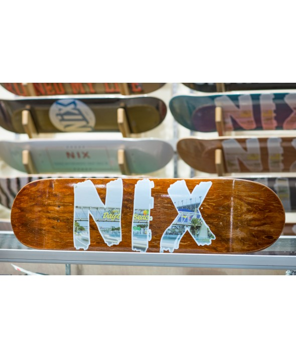 "Maui Nix ""Welcome to Daytona Beach"" Skate Deck"