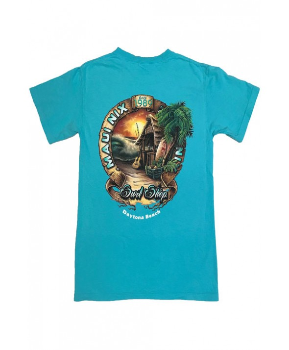 Maui Nix Scrolling Around Short Sleeve Tee