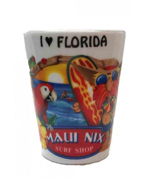 Maui Nix Personalized Ceramic Shot Glass