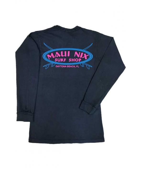 Maui Nix Cross Board Long Sleeve Tee