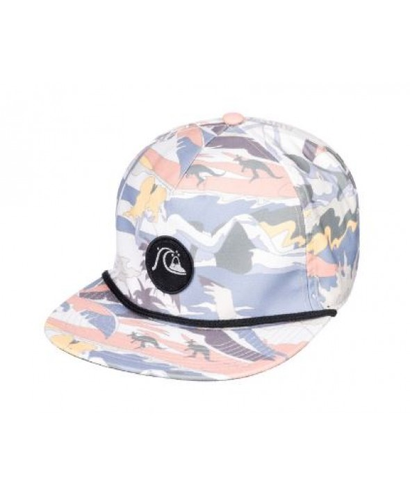 06189922307 QUIKSILVER MEN S DICE SLICER SNAPBACK HAT
