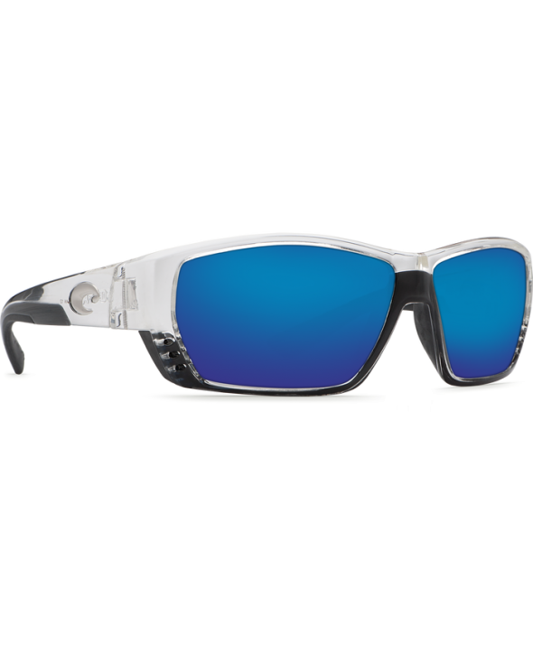 440ddc6d9d8 ... Costa Del Mar Tuna Alley Shiny Crystal Blue Mirror 580G Polarized  Sunglasses. CRY BLU