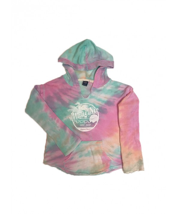 MAUI NIX YOUTH ANGEL TERRY NORA PULLOVER HOODIE