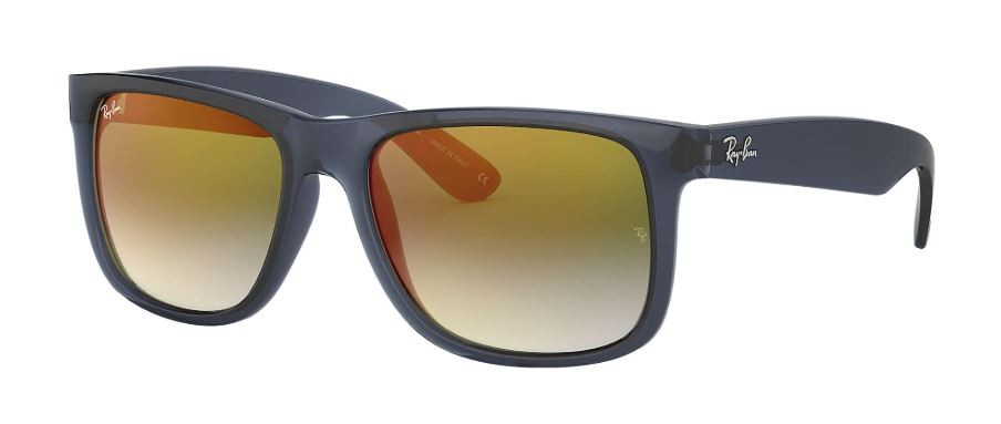 82c749d16661 Ray Ban Justin Flash Blue Green Gradient Mirror Sunglasses