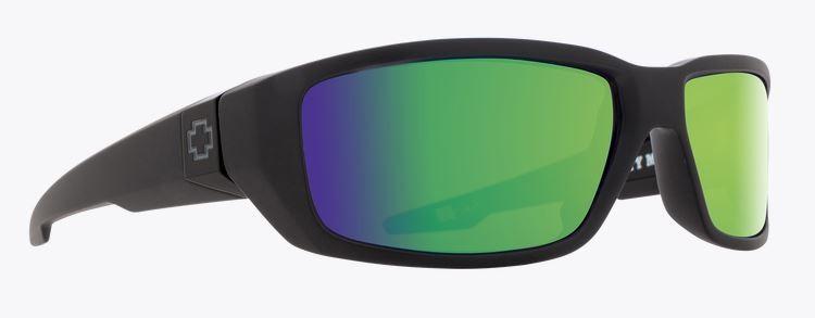 ec49d992bcf Spy Dirty Mo Matte Black Bronze Polar With Green Spectra Sunglasses
