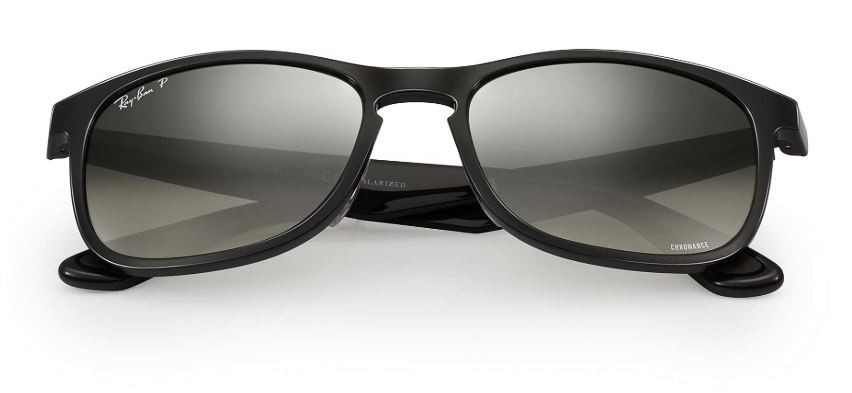 36837d11cb Ray Ban Rb 4263 Chromance Black Silver Mirror Polarized Sunglasses