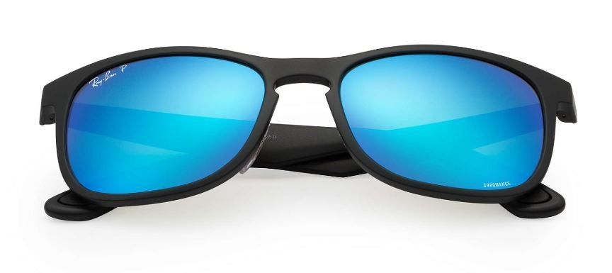 e89b6702f08e Ray Ban Rb4263 Chromance Black Blue Mirror Polarized Sunglasses
