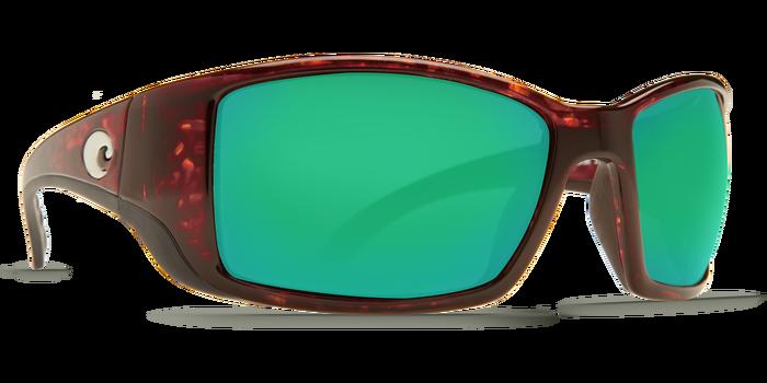 dddb34cc68b6 Costa Del Mar Blackfin Tortoise Green Mirror 580G Polarized Sunglasses