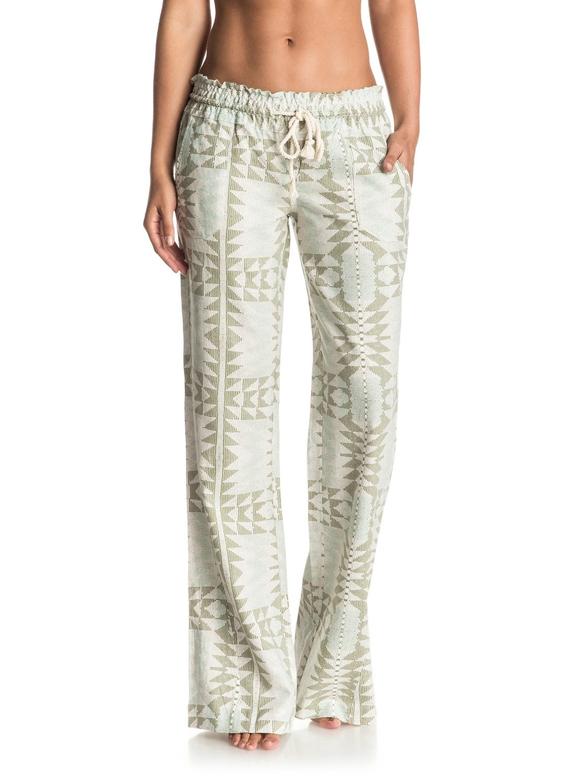 237137dd98 Roxy Women's Oceanside Printed Beach Pants