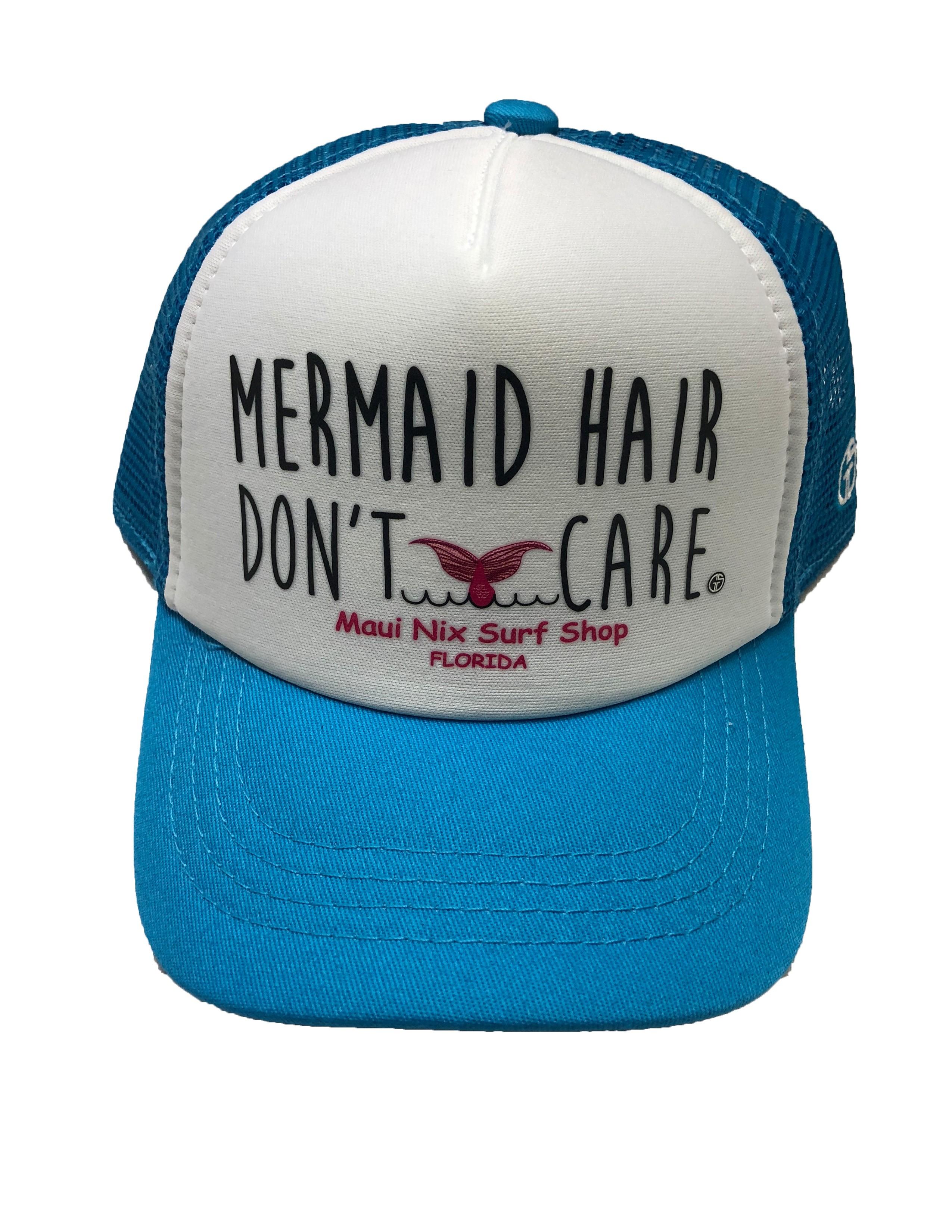 Maui Nix Grom Squad Mermaid Hair Kids Hat (Size Big) 4dd6700dfd9