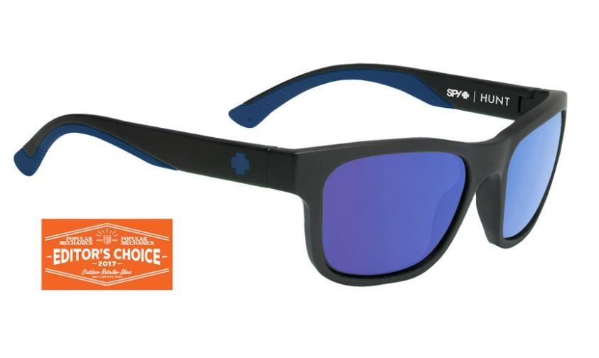 93a2dfed3b Spy Hunt Matte Black Navy - Happy Bronze Polar with Dark Blue Spectra  Sunglasses