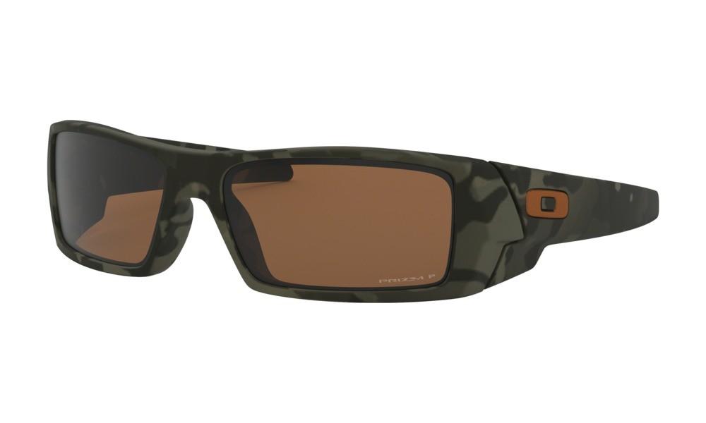 26fab8599a90f Oakley Gascan Matte Olive Camo Sunglasses with Prizm Tungsten Polarized  Lenses