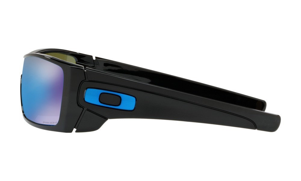 56d38f4c75 Oakley Batwolf Polished Black Prizm Sapphire Sunglasses