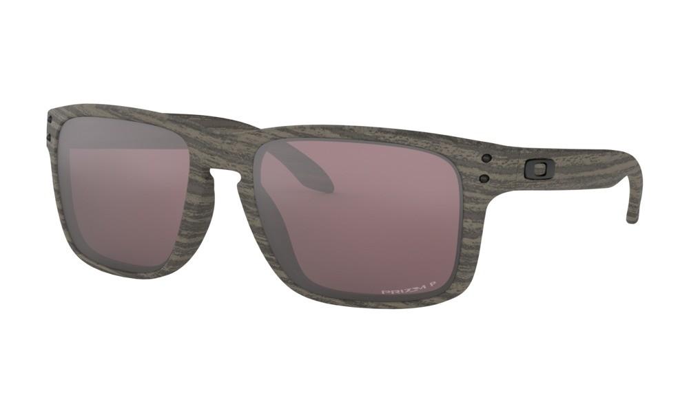 cab9adbe1c4f8 Oakley Holbrook Woodgrain Collection Woodgrain Prizm Daily Polarized  Sunglasses