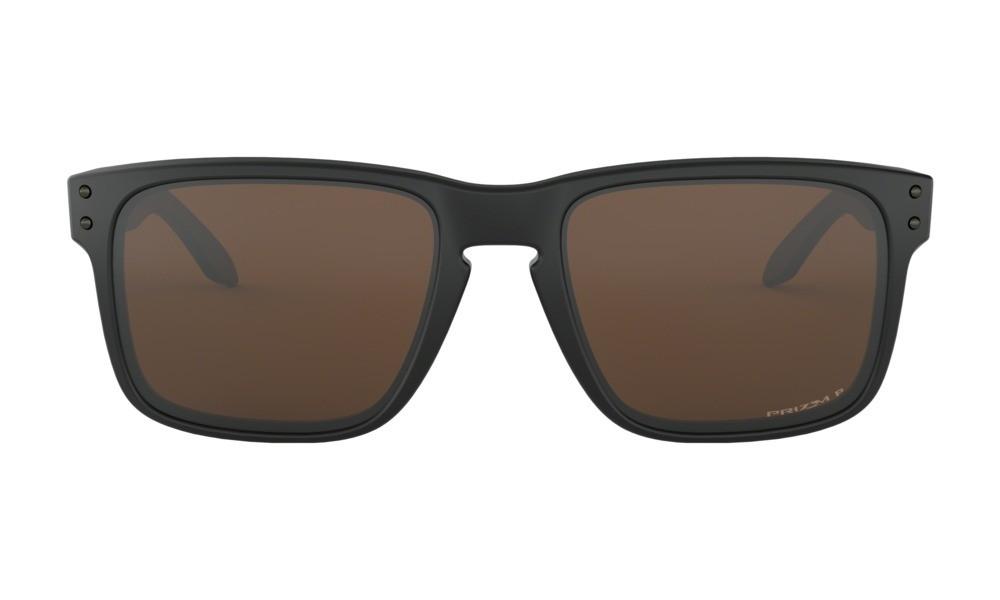 8292160278e Oakley Holbrook Matte Black Prizm Tungsten Polarized Sunglasses