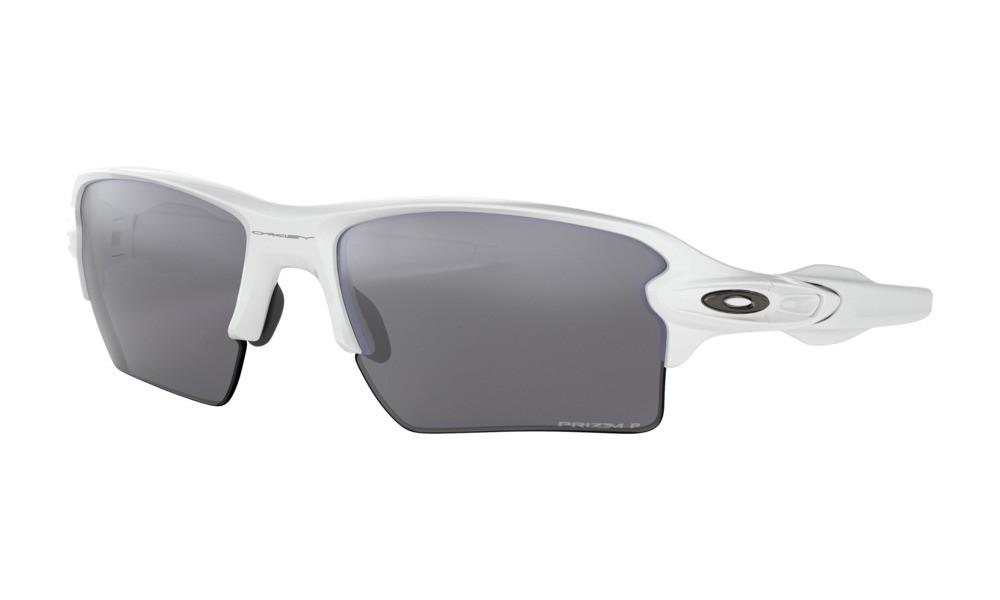 f87a10f3be Oakley Flak 2.0 XL Polished White Prizm Polarized Sunglasses