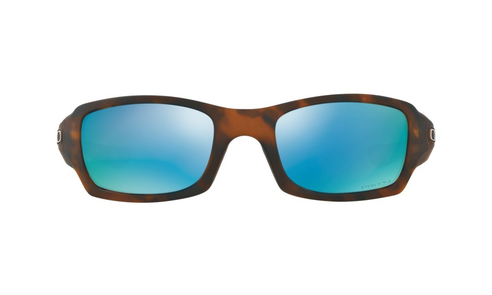 f5b7b9ce97 Oakley Fives Square Matte Tortoise Prizm Polarized Sunglasses