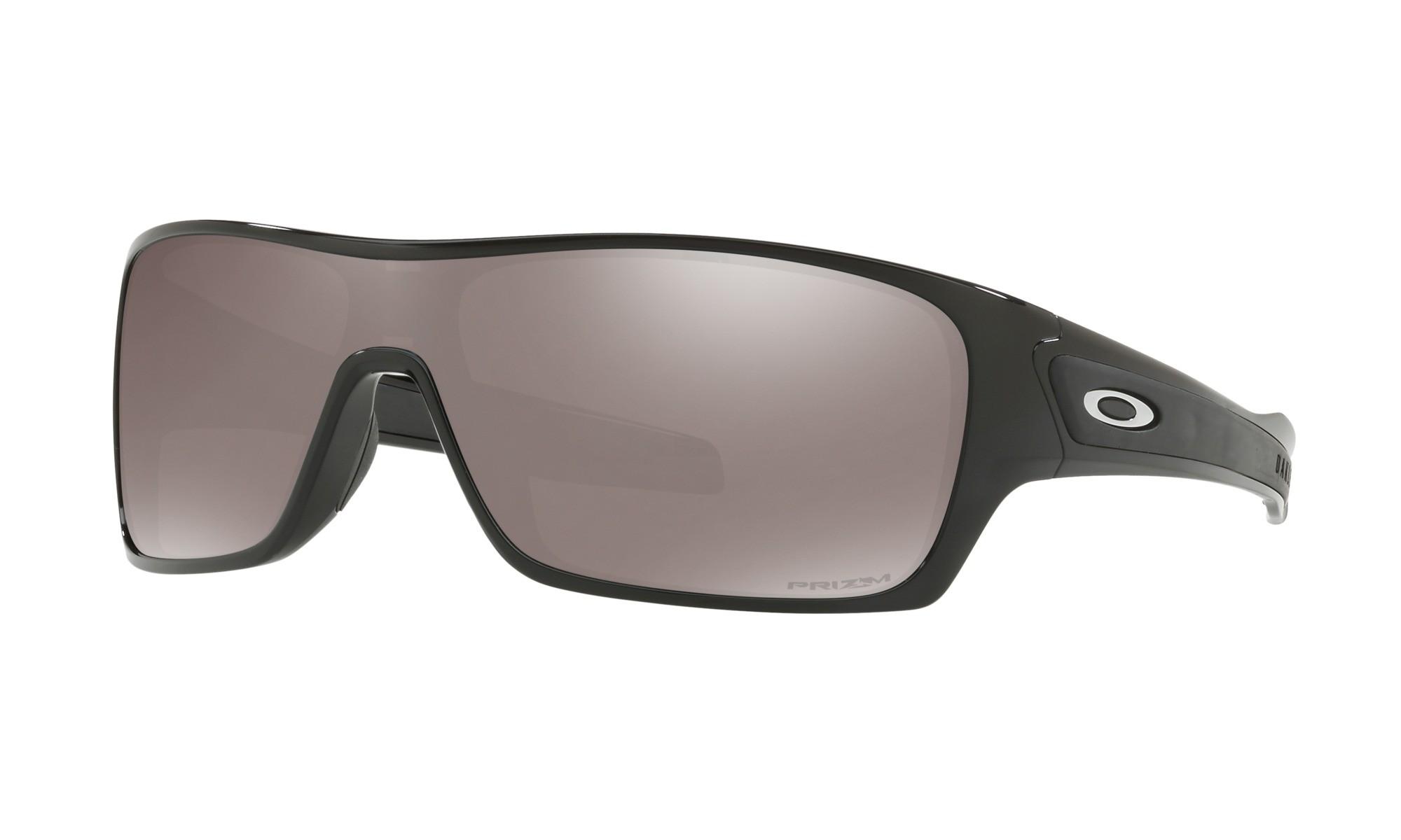 0e731c7ff2 Oakley Turbine Rotor Polished Black Prizm Black Polarized Sunglasses