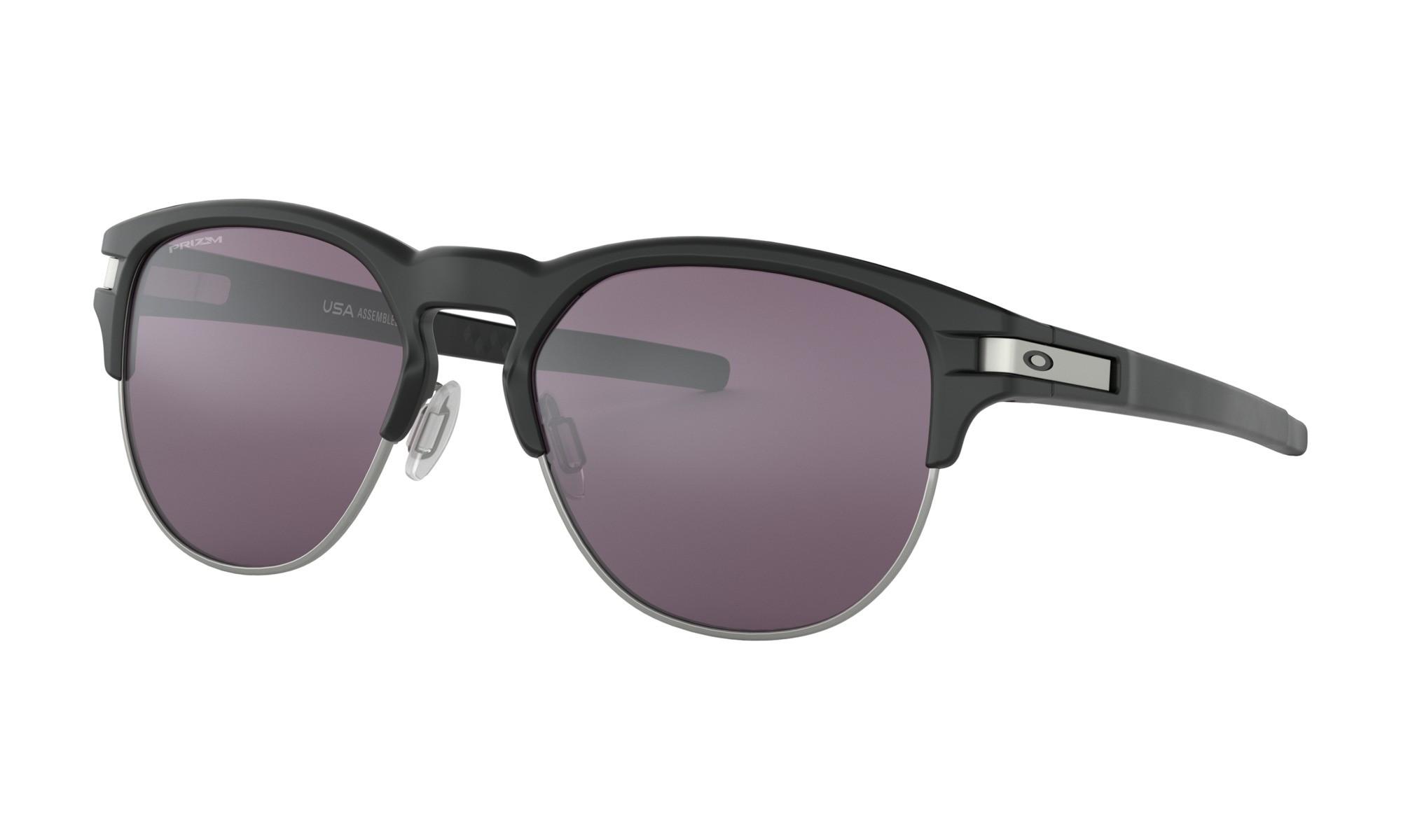 97b49d1eaf Oakley Latch Key M Matte Black Prizm Gray Sunglasses
