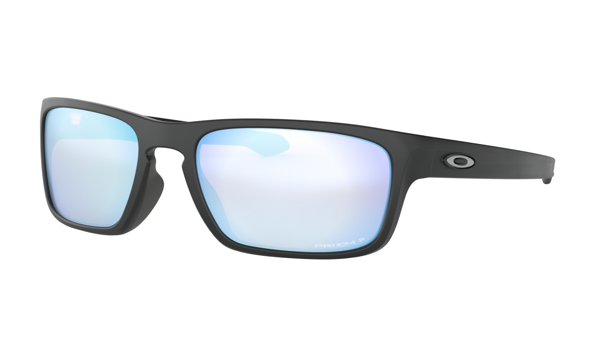 07f23ef7bc7 Oakley Silver Stealth Matte Black Prizm Deep Water Polarized Sunglasses