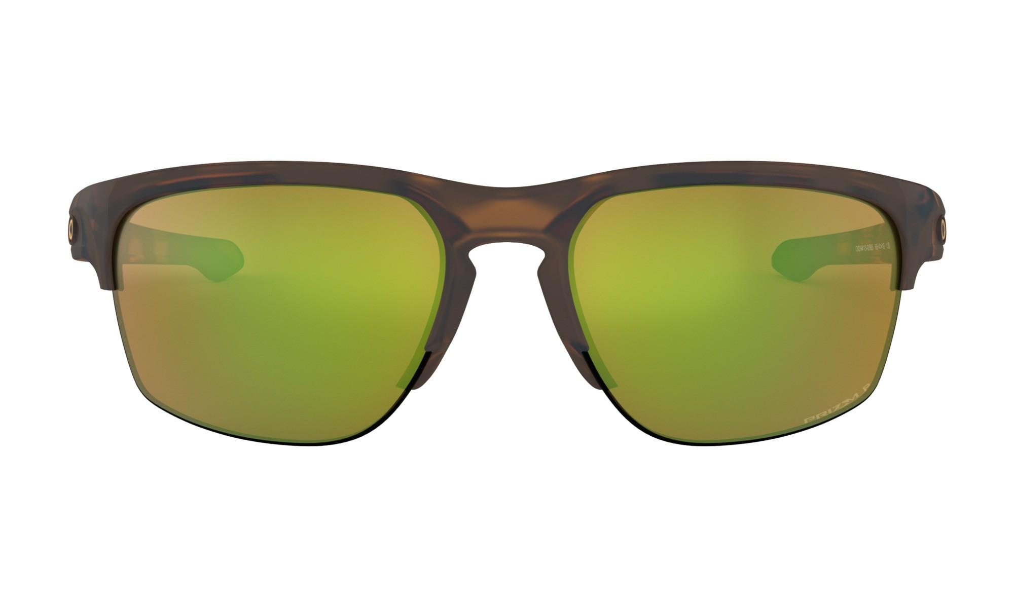 0283706776105 Oakley Sliver Edge Matte Brown Tortoise Prizm Shallow Water Polarized  Sunglasses