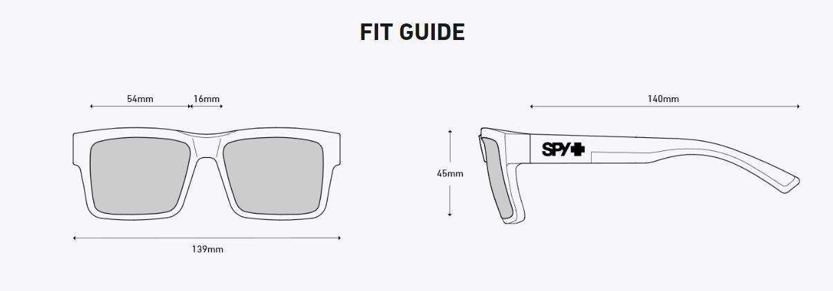308a280aa051c Spy Montana Matte Black Happy Polarized Lens Sunglasses