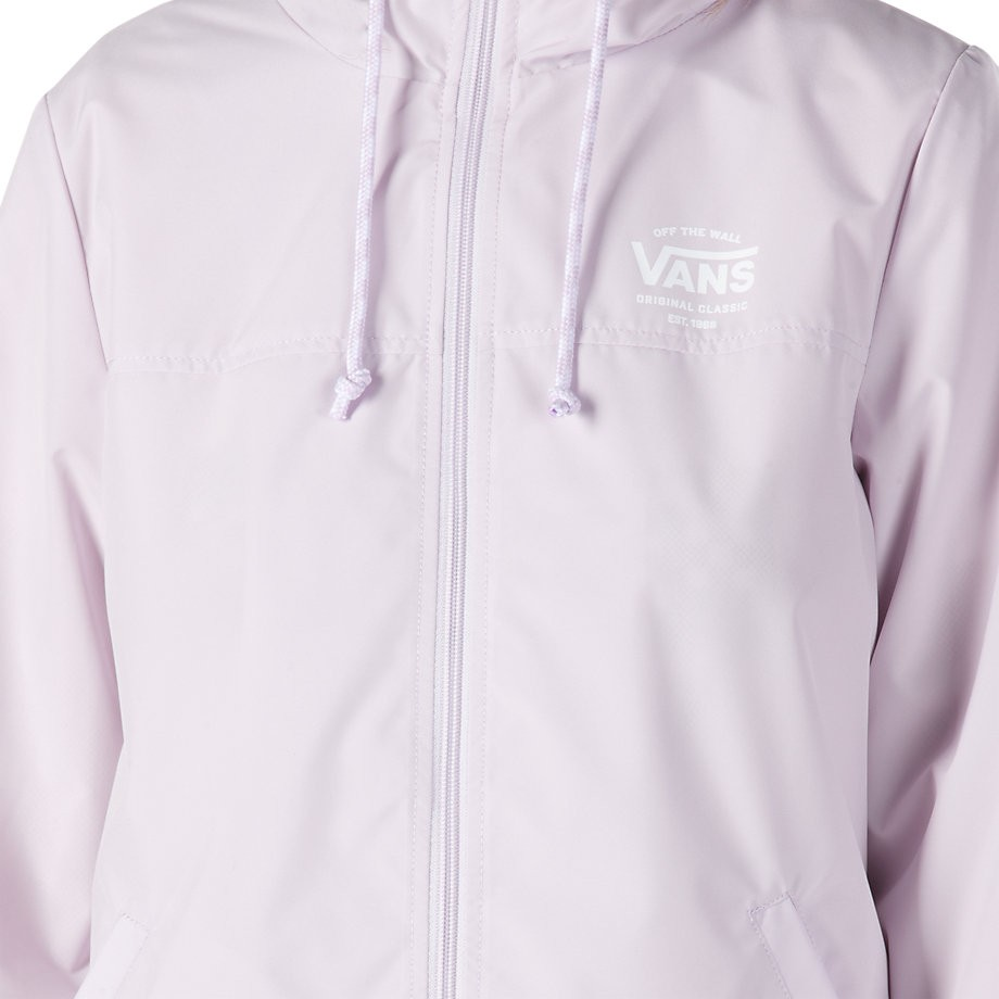 f9a53865e0 Vans Women s Kastle II Windbreaker Lavender Jacket