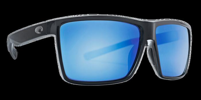 c7e6aa093f0 Costa Del Mar Rincon Shiny Black Blue Mirror 580G Sunglasses