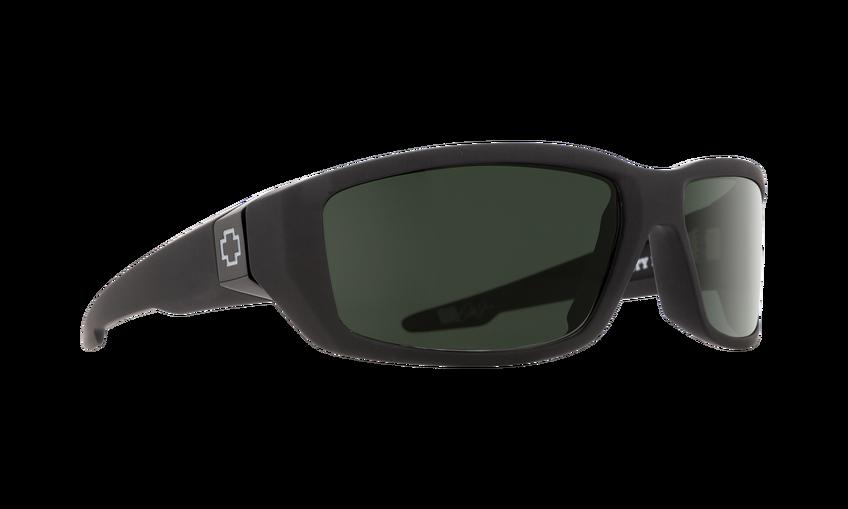 d0d04beaba5 Spy Dirty Mo Soft Matte Black Happy Polarized Lens Sunglasses