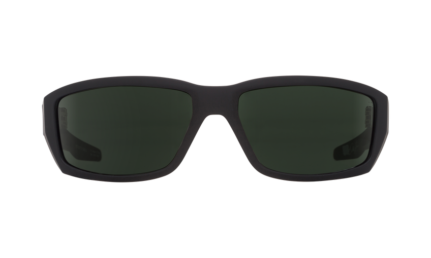 36732f6b96e Spy Dirty Mo Soft Matte Black Happy Polarized Lens Sunglasses
